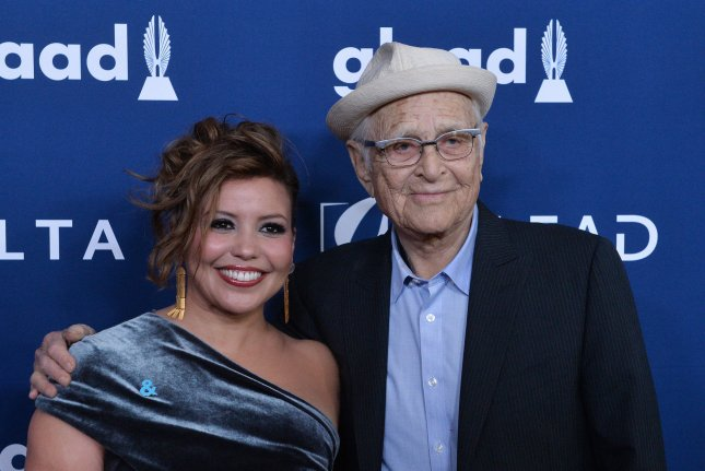 Justina Machado (L) returns for Season 4 of One Day At a Time, based on the original series from Norman Lear (R). File Photo by Jim Ruymen/UPI