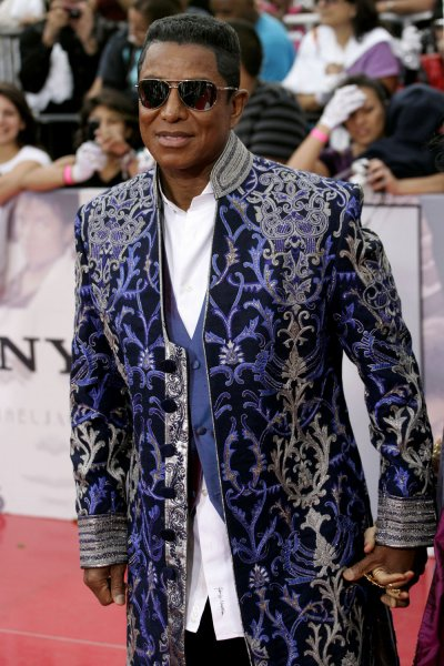 Jermaine Jackson attends the premiere of This Is It, at NokiaTheatre in Los Angles on October 27, 2009. The film is a compilation of interviews, rehearsals and backstage footage of Michael Jackson as he prepared for his series of sold-out shows in London. UPI/Jonathan Alcorn