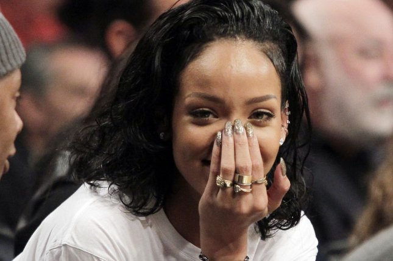 Rihanna. UPI/John Angelillo