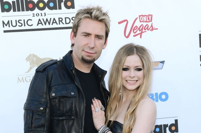 Avril Lavigne And Chad Kroeger 2014