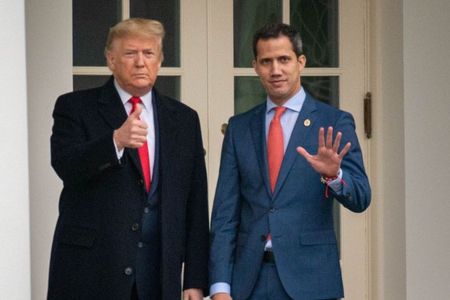 U.S. President Donald Trump has granted protection from deportation to Venezuelans seeking refuge in the United States. The United States has led a coalition of dozens of countries in its support of opposition leader Juan Guaido's claim to the Venezuelan presidency. Photo by Ken Cedeno/UPI