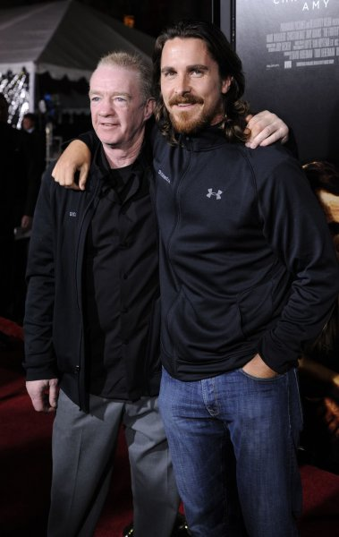Cast members Dicky Eklund (L) and Christian Bale (R) attend the premiere of the film The Fighter at the Grauman's Chinese Theatre in the Hollywood section of Los Angeles on December 6, 2010. UPI/Phil McCarten