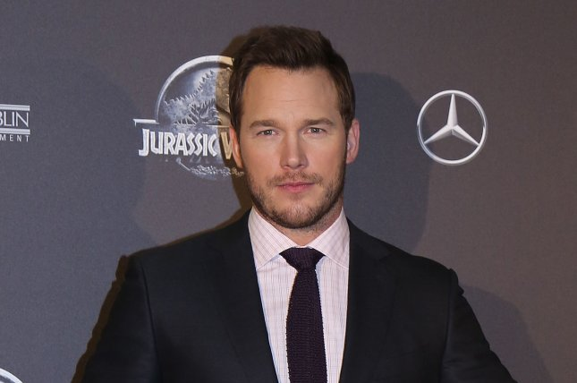 Chris Pratt arrives at the world premiere of the film Jurassic World in Paris on May 29, 2015. Photo by David Silpa/UPI.