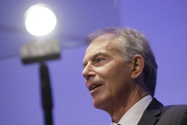 Former British Prime Minister Tony Blair told a BBC interviewer he might not accept the findings of the upcoming report on his government's actions in the Iraq War if the report is highly critical of him. Photo by John Angelillo/UPI