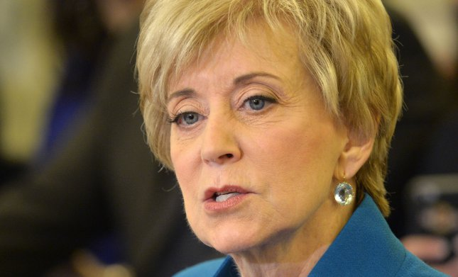 Linda McMahon confirmation hearing underway in Washington