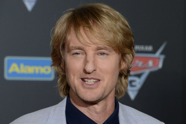 Owen Wilson attends the premiere of Cars 3 on June 10. Wilson stars alongside Ed Helms in the first trailer for 'Father Figures. File Photo by Jim Ruymen/UPI
