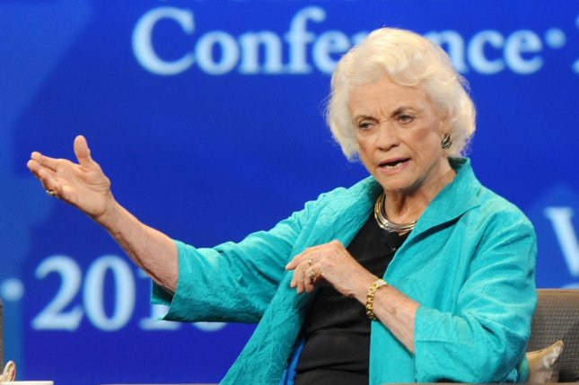 The honorable Sandra Day O'Connor appears at the Women's Conference in Long Beach, Calif., on October 26, 2010. She turns 90 on March 26. File Photo by Jim Ruymen/UPI
