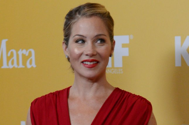 Actress Christina Applegate arrives for the Women in Film Crystal + Lucy Awards in Beverly Hills, California on June 12, 2012. UPI/Jim Ruymen