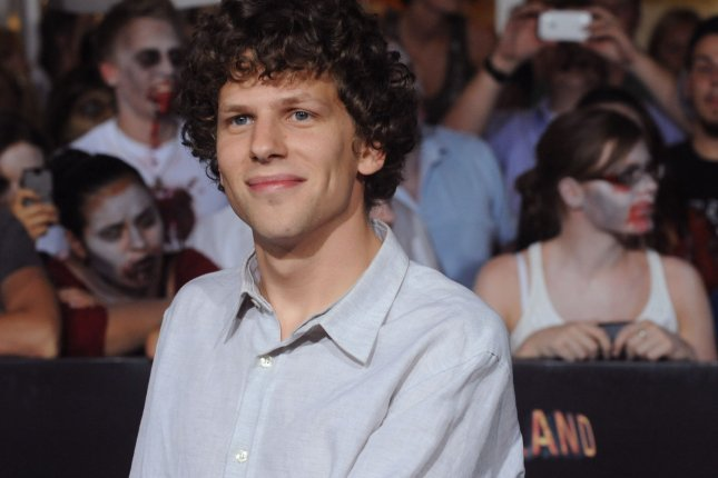 Jesse Eisenberg, a cast member in the motion picture horror comedy Zombieland, attends the premiere of the film in Los Angeles on September 23, 2009. File photo by Jim Ruymen/UPI