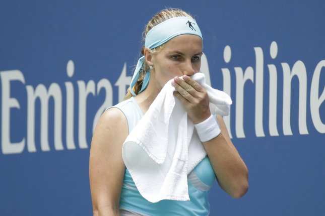 Svetlana Kuznetsova of Russia. Photo by John Angelillo/UPI