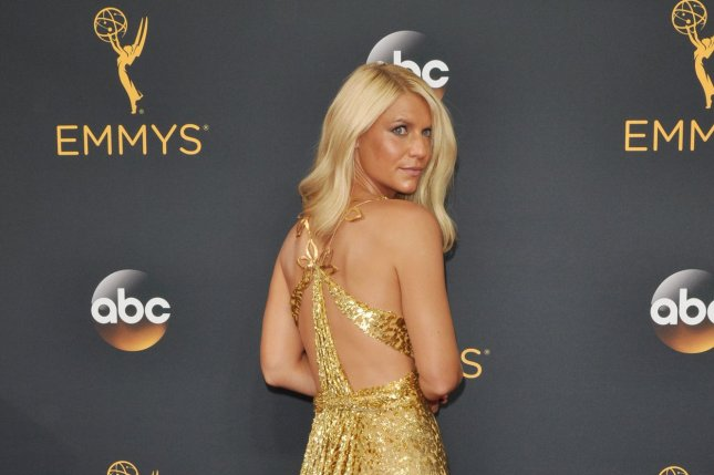 Homeland actress Claire Danes arrives for the 68th annual Primetime Emmy Awards in Los Angeles on September 18, 2016. File Photo by Christine Chew/UPI