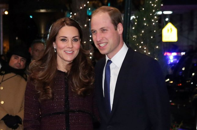 Prince William, duke of Cambridge and Kate Middleton, duchess of Cambridge arrive at The Carlyle Hotel on December 7, 2014 in New York City. A trial over topless photos taken of Middleton is underway in France. File Photo by Neilson Barnard/Pool