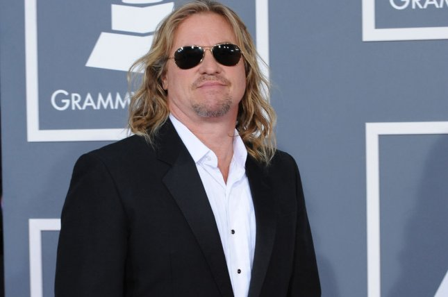 Val Kilmer arrives at the 54th annual Grammy Awards in Los Angeles on February 12, 2012. File Photo by Jim Ruymen/UPI