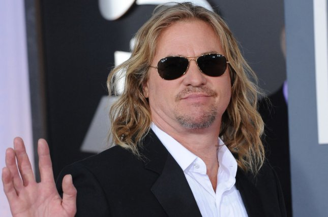 Tombstone star Val Kilmer arrives at the 54th annual Grammy Awards at the Staples Center in Los Angeles on February 12, 2012. File Photo by Jim Ruymen/UPI
