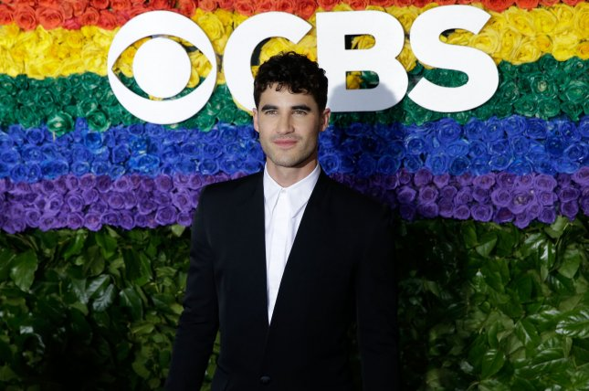 Actor Darren Criss is working with Ryan Murphy on a new series for Netflix called Hollywood. File Photo by John Angelillo/UPI