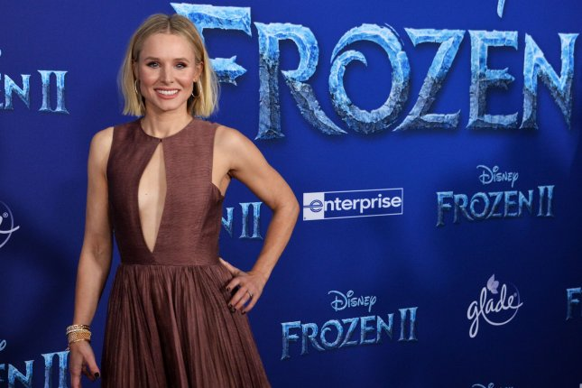 Cast member Kristen Bell attends the premiere of the animated musical comedy Frozen II in Los Angeles in November 7. Photo by Jim Ruymen/UPI