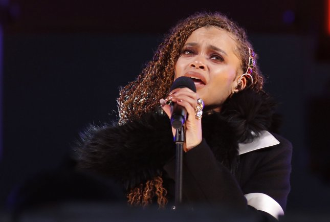 Andra Day is to perform at the BET Awards on June 27. Pool Photo by Gary Hershorn/UPI