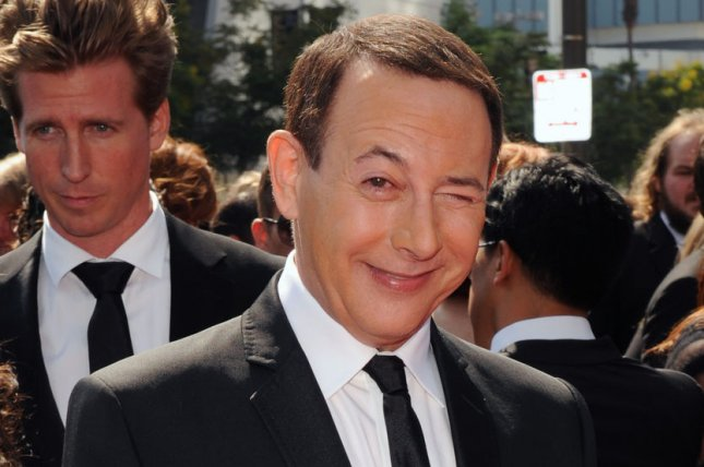 Actor Paul Reubens at the Primetime Creative Arts Emmy Awards in Los Angeles on September 10, 2011. Photo by Jim Ruymen/UPI