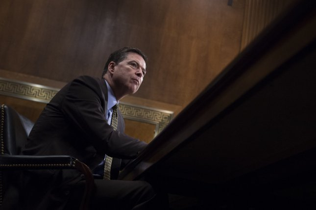 Former FBI Director James Comey is expected to testify before the Senate's intelligence committee, perhaps next week, regarding the ongoing investigation of potential election interference by Russia. File Photo by Molly Riley/UPI