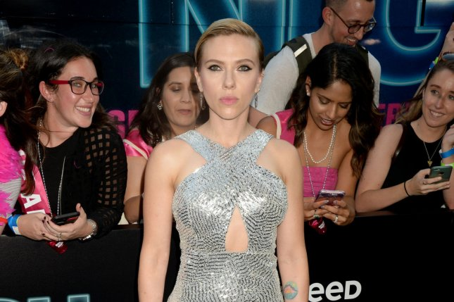 A Black Widow solo film starring Scarlett Johansson pictured here, is in the works at Marvel with a new screenwriter. File Photo by Dennis Van Tine/UPI