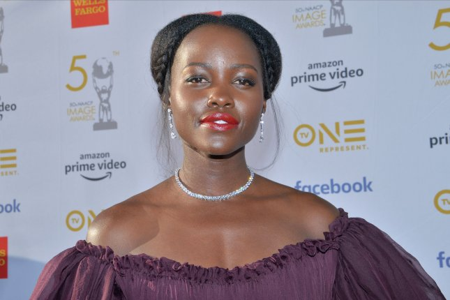 Us star Lupita Nyong'o. The African-American Film Critics Association has named Us Best Film with Nyong'o earning Best Actress. File Photo by Jim Ruymen/UPI