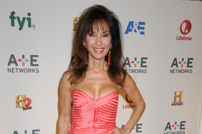 All My Children veteran Susan Lucci has a cameo in the new movie Joy. She is seen here at the 2015 A+E Network Upfront in New York City on April 30, 2015. Photo by Dennis Van Tine/UPI