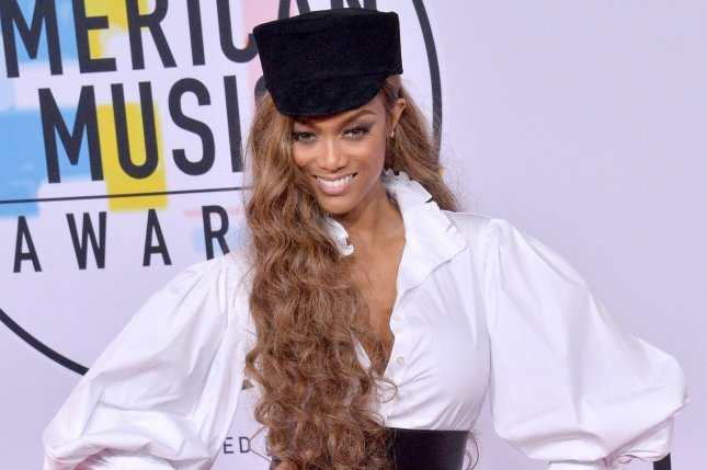 Tyra Banks appears on a solo cover of the 2019 Sports Illustrated swimsuit issue. File Photo by Jim Ruymen/UPI
