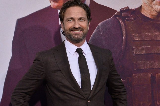 Cast member Gerard Butler attends the premiere of the film Angel Has Fallen in Los Angeles on August 20.  Photo by Jim Ruymen/UPI