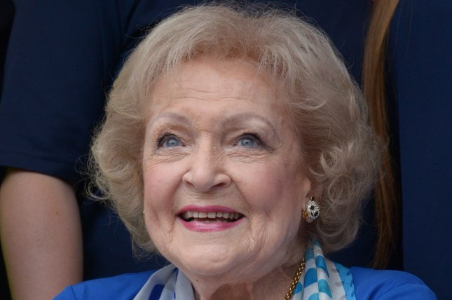 Betty White will star in a new Lifetime Christmas movie. File Photo by Jim Ruymen/UPI