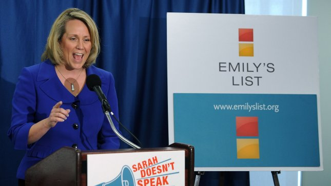 EMILY's List President Stephanie Schriock in Washington on August 17, 2010. UPI/Roger L. Wollenberg
