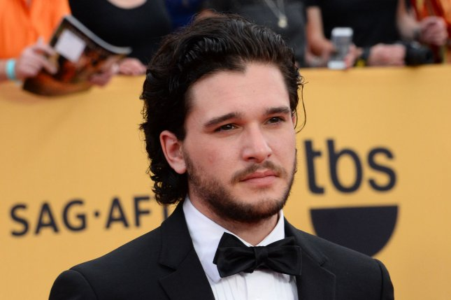 Kit Harington battled the White Walkers as Jon Snow on Sunday's episode of 'Game of Thrones.' File photo by Jim Ruymen/UPI