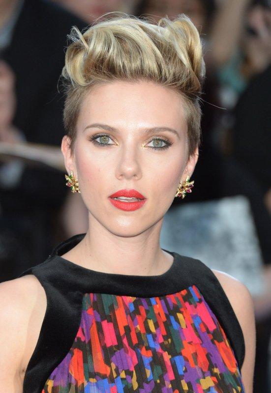 American acress Scarlett Johansson portrays Natasha Romanoff in Avengers: Age of Ultron. Photo by Rune Hellestad/ UPI