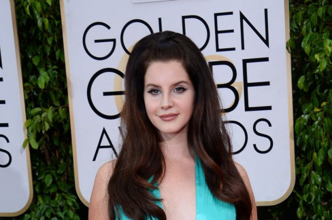 Singer Lana Del Rey attends the 72nd annual Golden Globe Awards at the Beverly Hilton Hotel in Beverly Hills, California on January 11, 2015. File Photo by Jim Ruymen/UPI