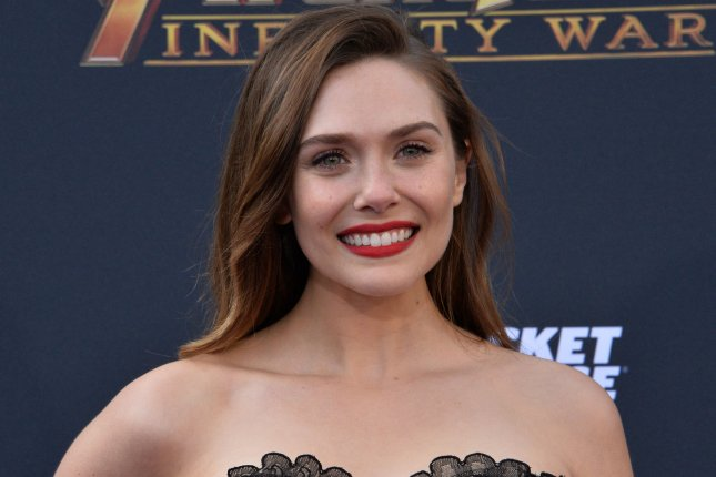 WandaVision star Elizabeth Olsen attends the premiere of Avengers: Infinity War in April 2018. WandaVision has earned a leading five nominations at the MTV Movie & TV Awards. File Photo by Jim Ruymen/UPI.