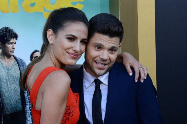 Jerry Ferrara (R) welcomed his second child, a baby boy, with his wife, Breanne Ferrara. File Photo by Jim Ruymen/UPI