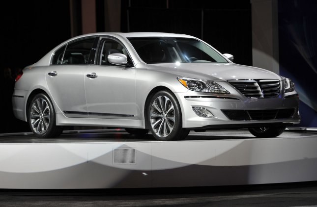 Hyundai unveils the 2012 Genesis 5.0 R Spec at the Chicago Auto Show at McCormick Place in Chicago on February 9, 2011. UPI/Brian Kersey