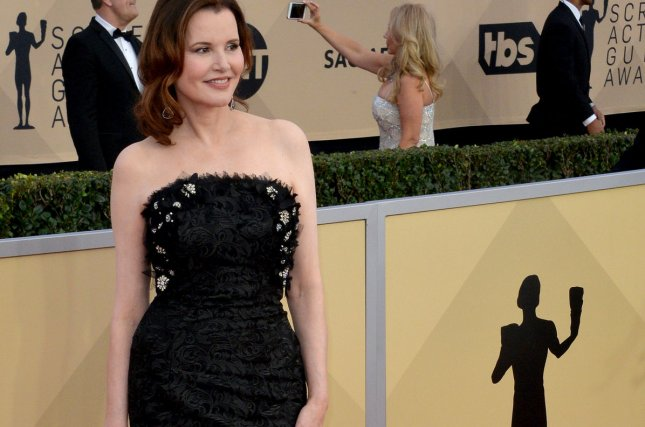 The Exorcist, which featured Geena Davis in Season 1, has been canceled after two seasons. File Photo by Jim Ruymen/UPI