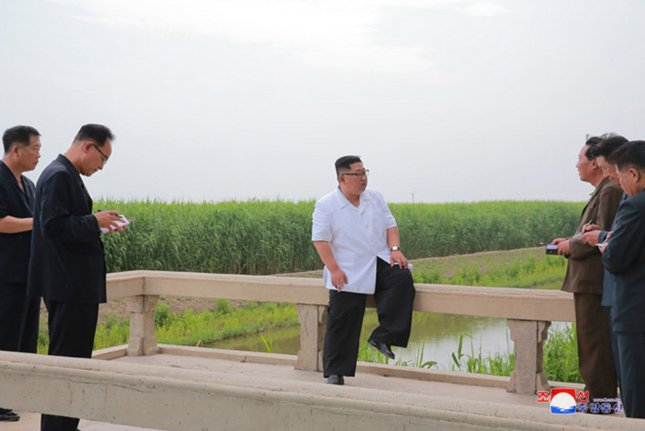 North Korea continues to face a dire food shortage and is in need of basic services such as healthcare, clean water, sanitation and hygiene, according to a funding report from the United Nations released this week. File Photo by KCNA/UPI