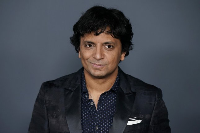 M. Night Shyamalan arrives on the red carpet at the world premiere of Apple TV+'s Servant at BAM Howard Gilman Opera House on November 19 in New York City. The filmmaker turns 50 on August 6. File Photo by John Angelillo/UPI
