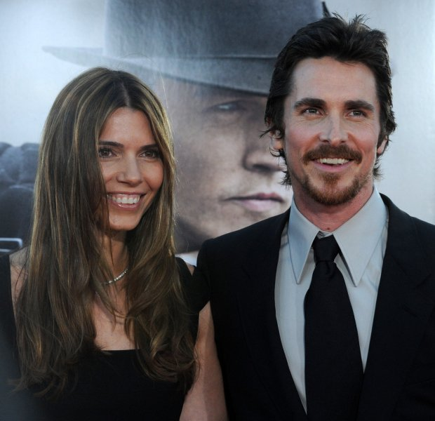 English actor Christian Bale, a cast member in the motion picture crime thriller Public Enemies, attends the premiere of the film with his wife Sibi Blazic in the Westwood section of Los Angeles on June 23, 2009. (UPI Photo/Jim Ruymen)