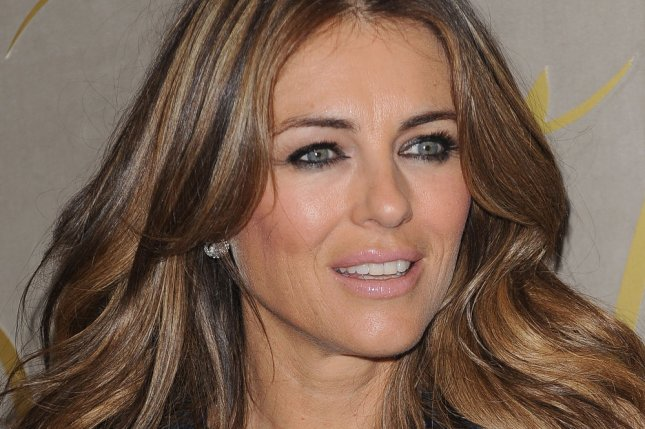 Elizabeth Hurley's The Royals has been renewed for a third season. She is seen here at a film premiere in London on November 3, 2015. File Photo by Paul Treadway/ UPI