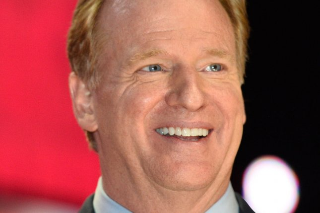 NFL Commissioner Roger Goodell. Photo by Brian Kersey/UPI