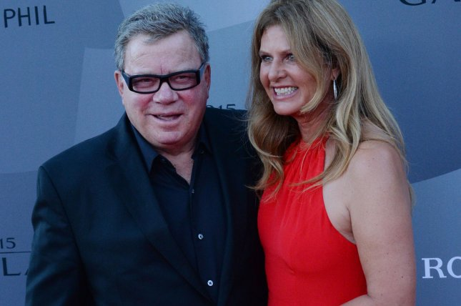 Actor William Shatner (L) and his wife Elizabeth Shatner attend Los Angeles Philharmonic's opening night concert on September 29, 2015. File Photo by Jim Ruymen/UPI