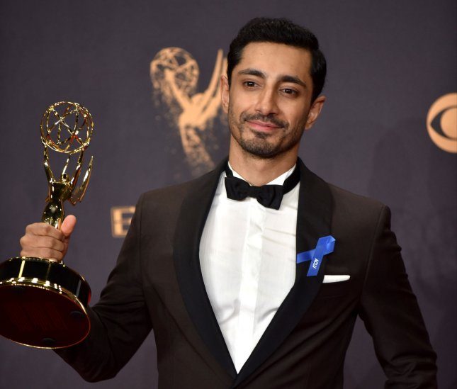 Riz Ahmed appears backstage during the 69th annual Primetime Emmy Awards on September 17. Ahmed is being eyed to star in Netflix's Hamlet. File Photo by Christine Chew/UPI