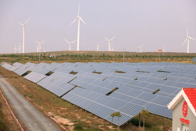 China files a complaint with the World Trade Organization over U.S. tariffs targeting solar energy components. File Photo by Stephen Shaver/UPI