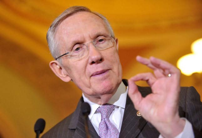 Senate Majority Leader Harry Reid (D-NV) speaks on the Senate budget deal on Capitol Hill in Washington, D.C. on December 17, 2013. UPI/Kevin Dietsch