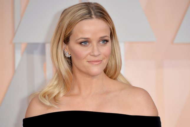 Reese Witherspoon arrives on the red carpet at the 87th Academy Awards at the Hollywood & Highland Center in Los Angeles on February 22, 2015. Photo by Kevin Dietsch/UPI