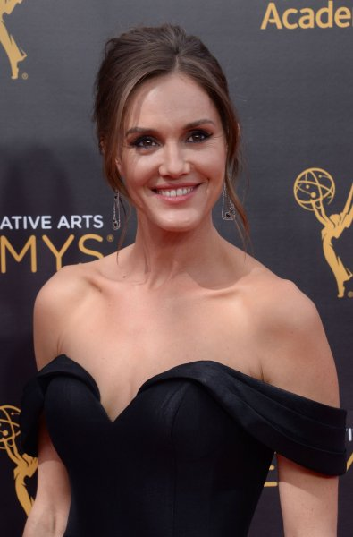 Former Kevin Can Wait actress Erinn Hayes attends the Creative Arts Emmy Awards in Los Angeles on September 10, 2016. File Photo by Jim Ruymen/UPI