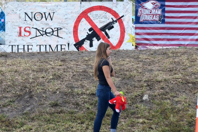 Oregon became the first state to enact new gun restrictions since the deadly shooting at Marjory Stoneman Douglas High School in Parkland, Fla., last month. File Photo by Gary Rothstein/UPI