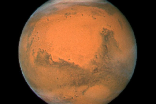 Cyanobacteria could produce oxygen inside future space colonies on Mars. Photo by UPI Photo/NASA/ESA/Hubble Heritage Team